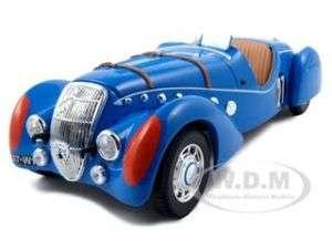 PEUGEOT 302 DARL MAT 1937 LE MANS BLUE 118