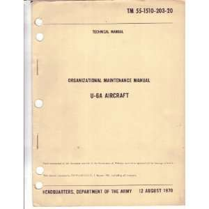 : De Havilland U 6A Beaver Aircraft Maintenance Manual: De Havilland