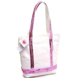 Super Lover Beautiful Pink Shoulder Canvas Bag S14 Baby