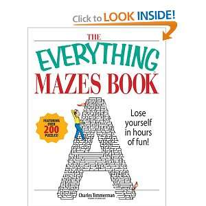 Everything Mazes Book (Everything (Hobbies & Games