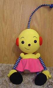 DISNEY ROLIE POLIE OLIE ZOE 15 PLUSH DOLL SO CUTE HTF