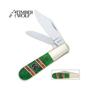 Timber Wolf Emerald Hill Barlow Folding Knife: Sports & Outdoors