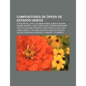 Barber, John Corigliano, George Gershwin (Spanish Edition