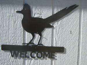 ROADRUNNER WELCOME PLASMA ART METAL ART SIGN