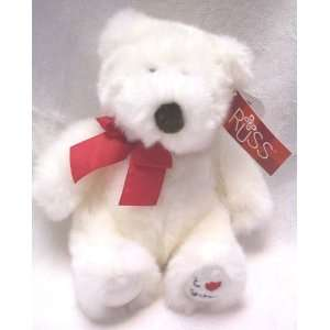 Russ Valentine Bear Bianca I Love You 7 Toys & Games
