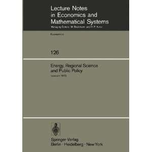 Systems) (9783540076926): M. Chatterji, P. van Rompuy: Books