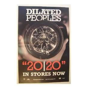 Dilated Peoples Poster Shattered Camera Lens 20/20