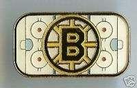 Boston Bruins NHL Hockey Sports Pin rink