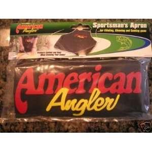 American Angler Sportsmans Fishing/Hunting Camp Apron