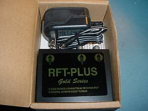 RFT PLUS 2200 Series Digital Synthesized Tuning Gold Series.