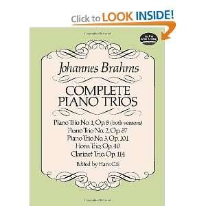 ): Johannes Brahms, Music Scores: 9780486257693:  Books