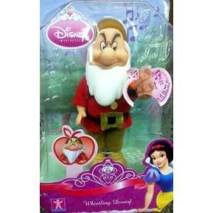 Disney Snow White   Whistling Grumpy Dwarf Boxed Doll Toy