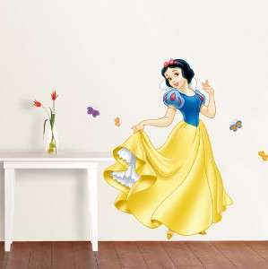 SNOW WHITE Decal Disney Princess Removable Repositionable WALL STICKER