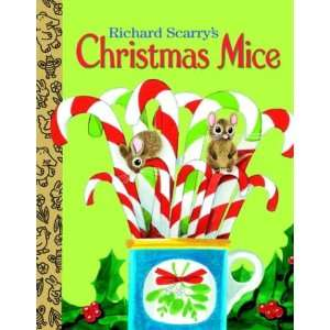 Christmas Mice (Little Golden Treasures): Richard Scarry: Books