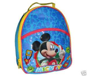 Disney Mickey Mouse Club House Insulated Lunch Bag NWT