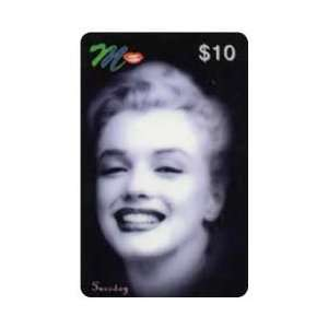 Marilyn Collectible Phone Card $10. Marilyn On Tuesday B