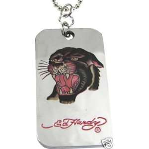 Panther Head Dog Tag Necklace Everything Else