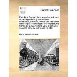 carte de la France v 5 of 8 (French Edition) (9781171415039): Henri