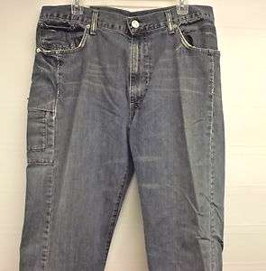 MEN ~LEVIS RARE REDWIRE STRIGHT BLUE DENIM JEANS PANTS SZ 36X30