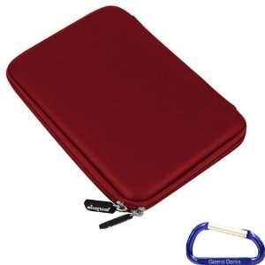 Gizmo Dorks Hard EVA Cover Case (Red) with Carabiner Key