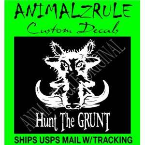 BOAR HUNTING DECAL: Everything Else