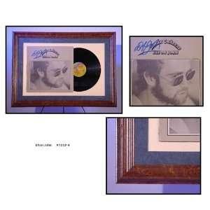 Elton John Autographed/Hand Signed Album Cover Honky