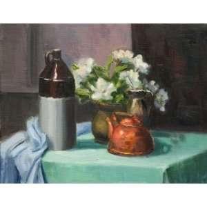 Flowers, Original Painting, Home Decor Artwork