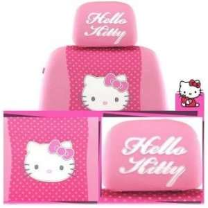 Hello Kitty Car Seat Cover (Pink w/ Face) Version II