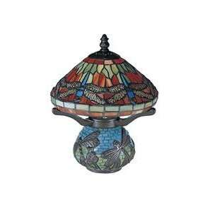Dale Tiffany 8774 Museum 1 Light Table Lamp in Antique