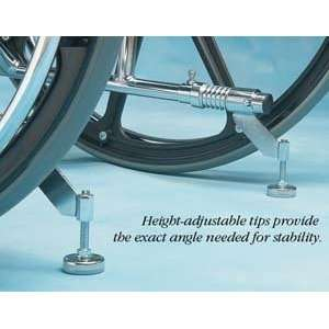 Comfy Wheelchair Anti Tip Device