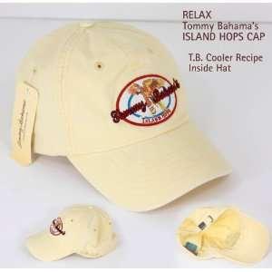 Tommy Bahama Mens Cap Hat Iland Hops Yellow Sports