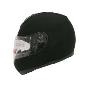 Black Motrocycle Full Face Street Sport Bike Helmet DOT (XXLarge