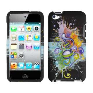 Apple ipod Touch 4g hard case cover Music Symbol