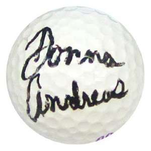 Donna Andrews Autographed / Signed Golf Ball Everything