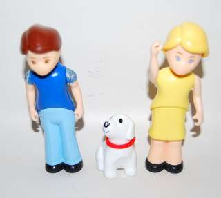 Little Tikes Dollhouse People Family Mom Dad Puppy Dog