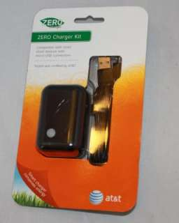 This OEM AT&T Micro USB Wall Charger + Data Cable is Brand New, in its