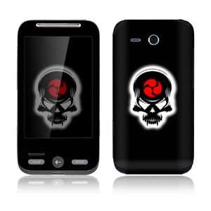 Samurai Death Skull Decorative Skin Decal Sticker for HTC