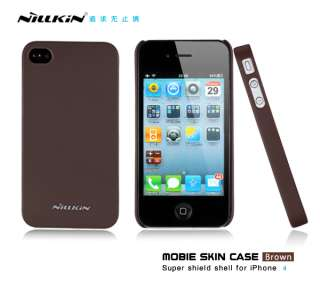 Nillkin High Quality Hard Case Cover + Screen Protector For Apple