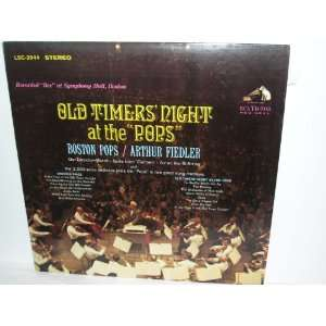 : Old Timers Night At the Pops Arthur Fiedler/Boston Pops: Music