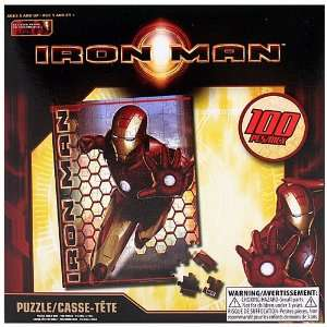 Iron Man 100 Piece Puzzle Toys & Games