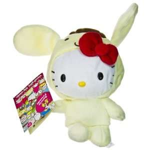 Sanrio Hello Kitty Plush   Hello Kitty as PURIN (6 inch) Toys & Games