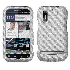 Crystal Diamond BLING Hard Case Phone Cover for Motorola Electrify