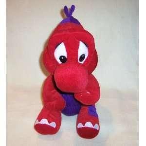 12 Super Mario Bros. Red and Purple Plush Yoshi Toys