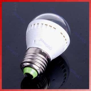 5W E27 Pure White 7 SMD 5050 LED Light Lamp Bulb 185V 265V New
