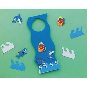 By the Sea Door Hanger Craft Kit (Makes 12): Toys & Games