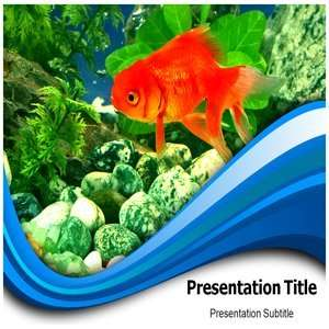 Powerpoint Templates, Fish Powerpoint Backgrounds slides Software