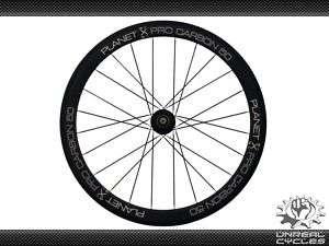 Planet X Pro Carbon 50 Tubular 700c Wheel Set