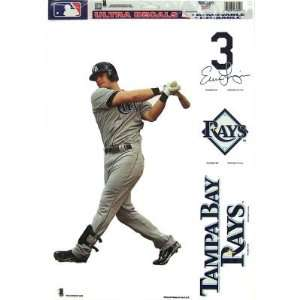 TAMPA BAY RAYS EVAN LONGORIA REMOVABLE CAR TRUCK WINDOW WALL DECAL SET