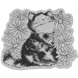 Penny Black Cling Stamp 4X5.25 Daisy Love: Arts, Crafts