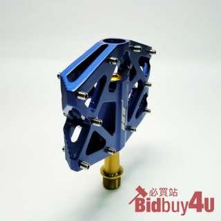 Blue MX01T 239g MAG TI BMX MOUNTAIN BIKE PEDALS BICYCLE